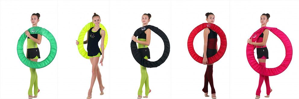 Чехол на обруч для художественной гимнастики своими руками 569