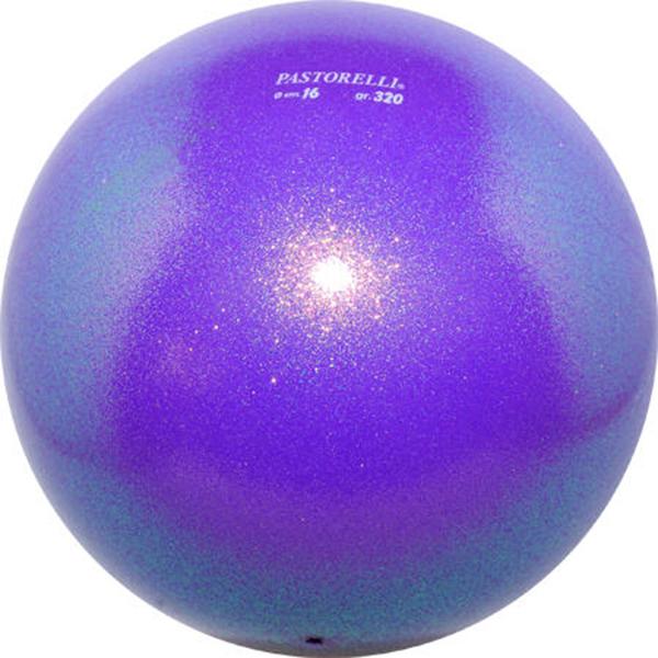 МЯЧ PASTORELLI GLITTER фиолетовый. Фото: 7