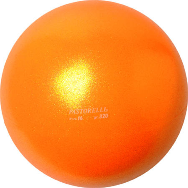 МЯЧ PASTORELLI GLITTER оранжевый. Фото: 3