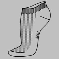 Носки спортивные низкие NS11 - Фото - 2