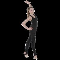 Трико плотное, матовое для занятий художественной гимнастикой, танцами. Фото: 1