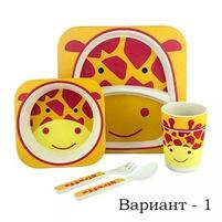 купить  Эко посуда для малышей из бамбукового волокна