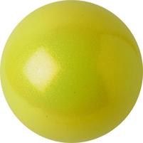 МЯЧ PASTORELLI GLITTER желтый. Фото: 2